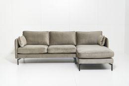 Tebis 2,5+šezl. D. kampinė sofa
