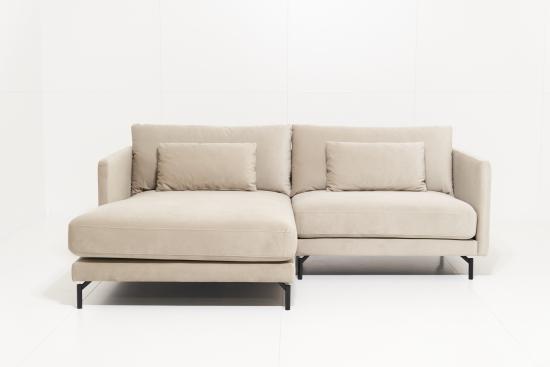 Linde KRE+šezl. K kampinė sofa
