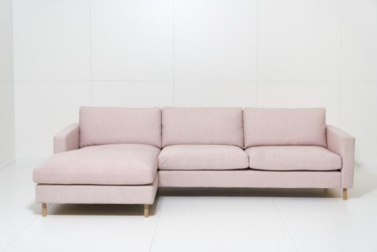 Oslo 2,5+šezl. K. kampinė sofa